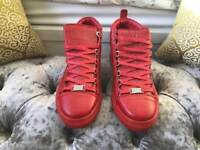 Red Balenciaga Size 10/11 Trainers