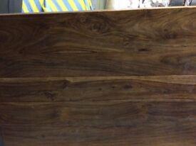 Walnut hardwood table