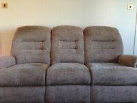 Sherborne Three Piece Suite Immaculate Condition