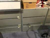 Heavy bisley filing cabinets