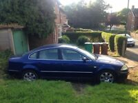 Great VW Passat diesel sports for sale..needs a bit of work to get it back on the road...