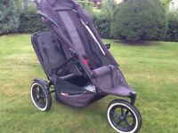 Phil &Ted double buggy