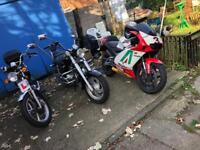 Stunning aprilia rs 125 motorbike