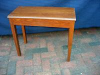 Duet fixed height piano stool