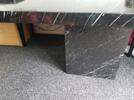 BEAUTIFUL SOLID ITALIAN MARBLE DINING TABLE. SITS 6/8 COMFORTABLY. SELLING AS NEED EXTRA FLOOR SPACE