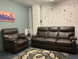 Real leather Reid's sofas delivery 🚚 sofa suite couch furniture