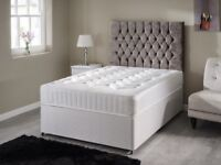 Delivery- TODAY PREMIUM RANGE Double Bed Single Bed King Bed Full Sets Luxury ORTHOPAEDIC Mattress-