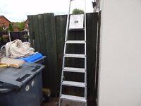 Pair Aluminium Step Ladders