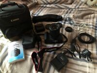 Very good condition Canon 700D with lens + everything you need