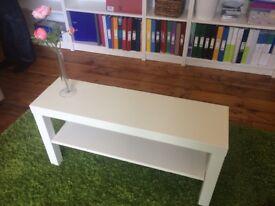 IKEA Lack TV bench white 90x26cm