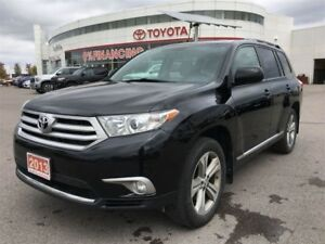 2013 Toyota Highlander V6 - Leather, Moonroof & Local Vehicle!!