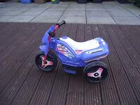 plastic motor bike