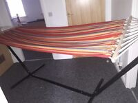 HAMMOCK FOR SALE - GREAT FOR GARDENS, CARAVANS ECT *RUNCORN*