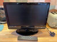 "Technika X185/84E 19"" screen with integral DVD Player"