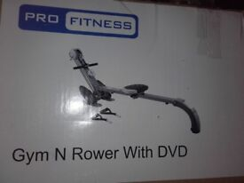 Pro fitness gym n rower