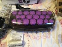 Babyliss heated hair rollers. Used once excellent condition.