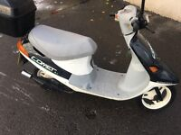 Pgo comet 49cc 2 stroke moped scooter low mileage