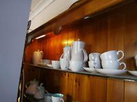 vintage retro kitsch 1960s poole pottery, tea set, dinner service, coffee set approx 80 pieces