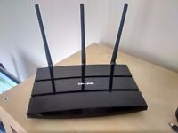 Gigabit ADSL modem wireless router and free monitor