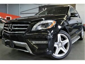 2015 Mercedes-Benz M-Class ML350 BlueTEC 4MATIC AMG SPORTS PACKA