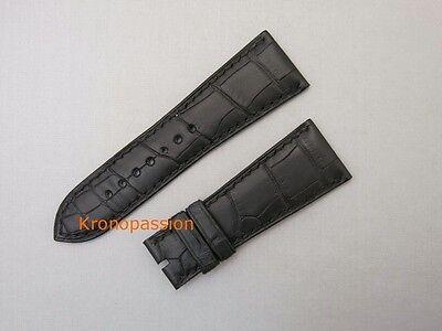 De Bethune Black Alligator Strap 24mm/19mm Short Size New !