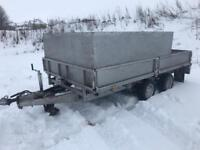 Ifor Williams 12x6 twin axle 3500kg trailer