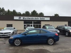 2010 Honda Civic EX-L LEATHER, SUNROOF, FINANCE NOW!