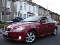 !!! LEXUS IS220D 2.2 6 SPEED DIESEL !!! 2007 PLATE NEWER SHAPE !!! RED !!! IS 220 220D