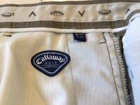 Callaway Golf Trousers waist 34