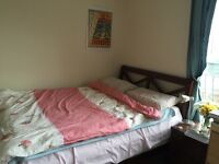 Sublet: 3-29 Aug. Double en suite room. Near Train station. Clean, quiet, cozy. Ideal for students.