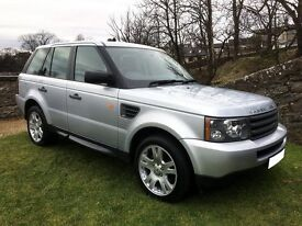 RANGE ROVER SPORT 4x4, 2006, 2.7 TDV6, ONLY 80K, VGC, 3.5T TOW ** PRICED TO SELL **