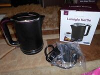 Andrew James Lumiglo Breakfast Duo Kettle And Toaster Set