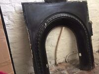 Wrought Iron Victorian Fireplace