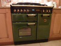 Cooker -Ranngemaster Classic 90 Dual Fuel and matching Hood