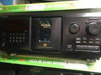 SONY-mega Storage 300CD CD player- CDP-CX355