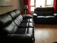 3 & 2 black Suite ..(not recliners)