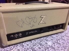 Dr Z Z Wreck Head. Sounds like Two rock Victory Vox AC30 fender reverb marshall