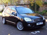 AA WARRANTY!! 2008 KIA CARENS 2.0 CRDi GS 5dr (7 SEATS) AUTO, DIESEL, 1 YEAR MOT