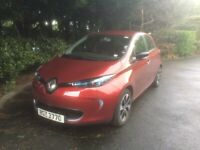 Renault, ZOE, Hatchback, 2017, All Electric. Type 2 fastcharge electric port. 22 kW AC