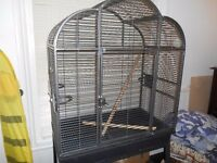 Large Bird Cage and Stand