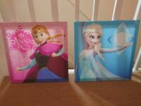 Frozen Girls Bedroom Canvas