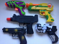 Bundle Of Toy Guns