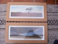 2 Landscape Prints by Chris Simpson