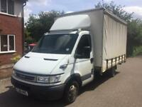 IVECO DAILY 35C14 LWB 3L CURTAIN SIDED 2006 , 2 OWNERS, 143200 MILES , DRIVE WELL