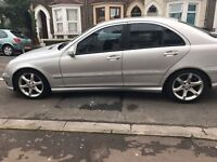 Mercedes C Class Silver 180 K Sports Edition Automatic 2006