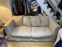 Triple sofa bed