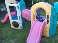 Little tikes 8 in1 climbing frame