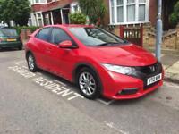 Honda Civic 2012 5 Door Red