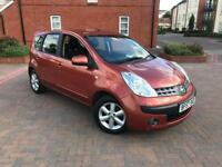2007/57 NISSAN NOTE 1.6 SE AUTOMATIC 2 F KEEPERS SERVICE HISTORY