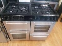 Newworld Dual Fuel range cooker 100cm width. 3 months warranty